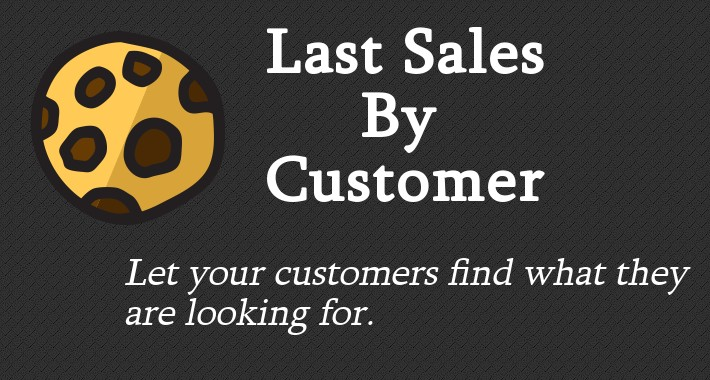 LastSalesByCustomer - Personalized advertising