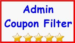 Admin Coupon Filter