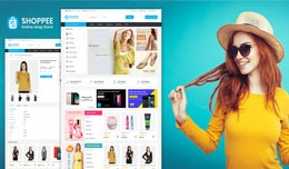 Shoppee OpenCart 3.X Multistore Theme (Free Inst..