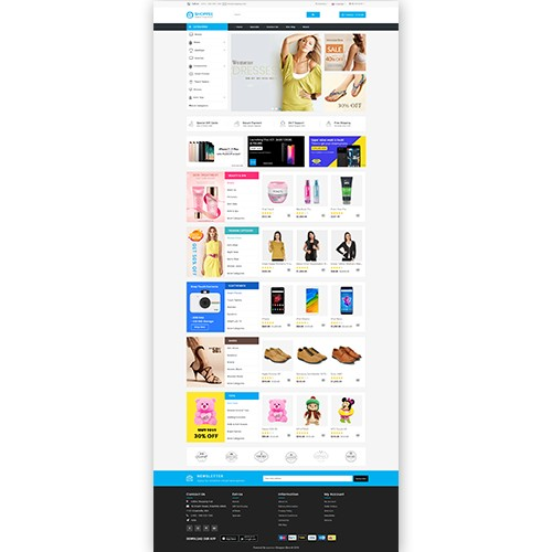 OpenCart - Shoppee OpenCart 3 X Multistore Theme (Free
