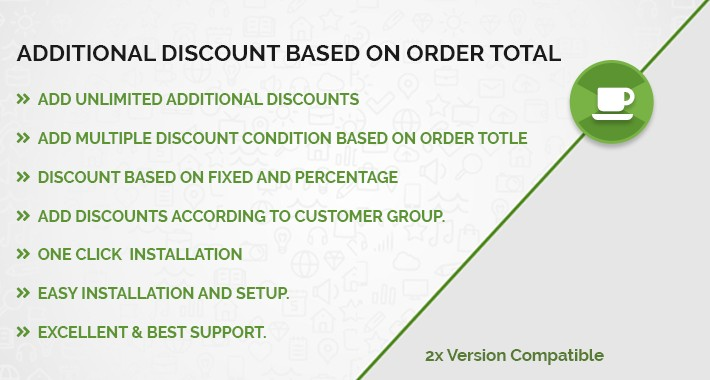 Additional / Extra Discount based on Order Total