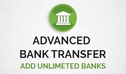 Multiple Bank Transfer Payment Method