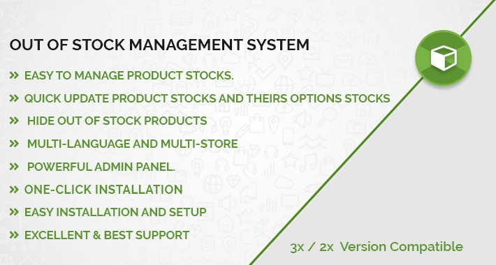 Opencart Out Of Stock Management System