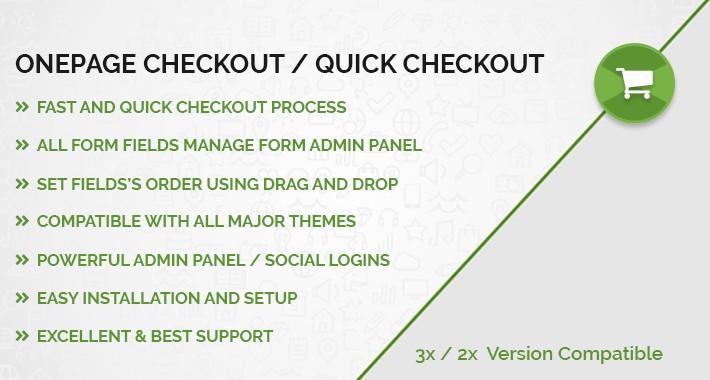 Onepage Checkout / Quick Checkout