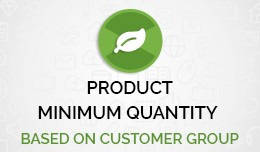 Product Minimum Quantity accordingly Customer Gr..