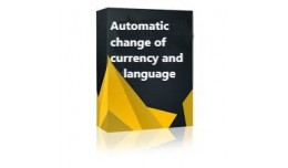 Automatic change of currency and language