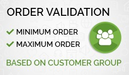 Mini / Max Order Validation
