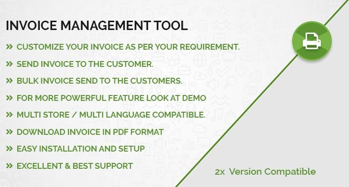Invoice Management Tool