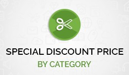 Special discount accordingly categories