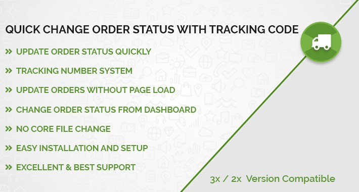 Quick Change Order Status