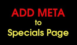 Add meta to Specials page