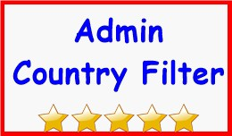 Admin Country Filter