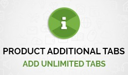 Product Additional Tabs