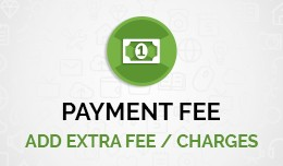 Payment fee accordingly payment methods