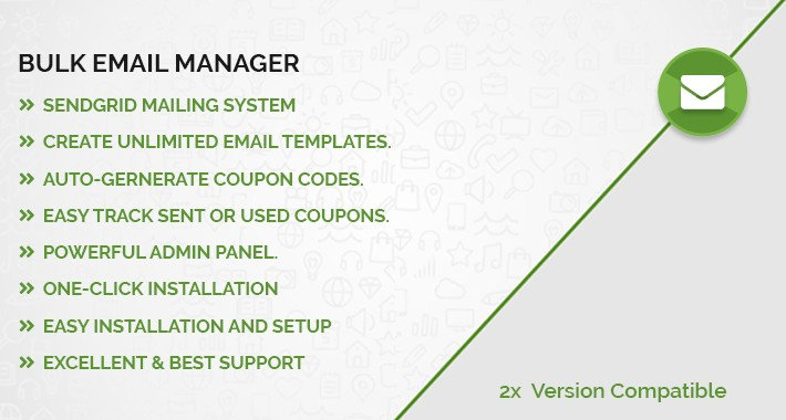 Bulk Email Manager / Send Offer Emails to Customers