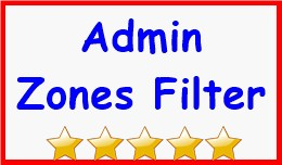 Admin Zones Filter