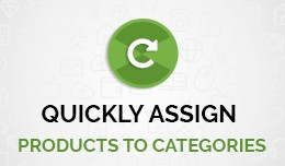 Quickly Assign Products to Categories
