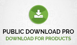 Public Downloads for Product