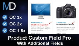 Product Custom Field Pro - With Additional Fields