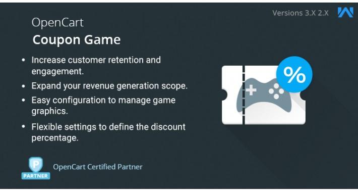 OpenCart Coupon Game
