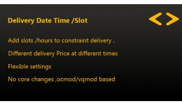 Delivery Date Time / Slot Pro
