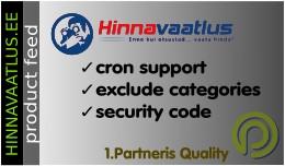 Hinnavaatlus.ee product feed for OpenCart 3.x