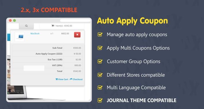 Auto Apply Coupon