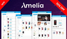 Amelia OpenCart 3.X Website Theme