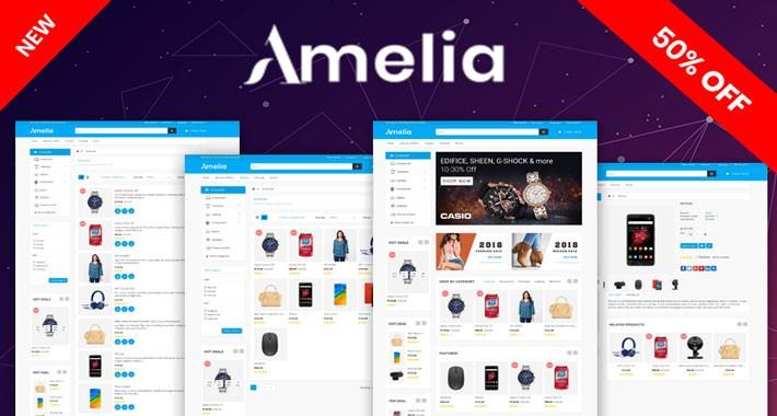 Amelia OpenCart 3.X Website Theme