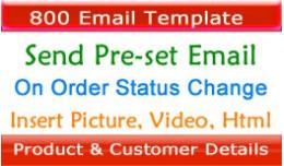 Auto Send Pre-set Email When  Order Status Updat..