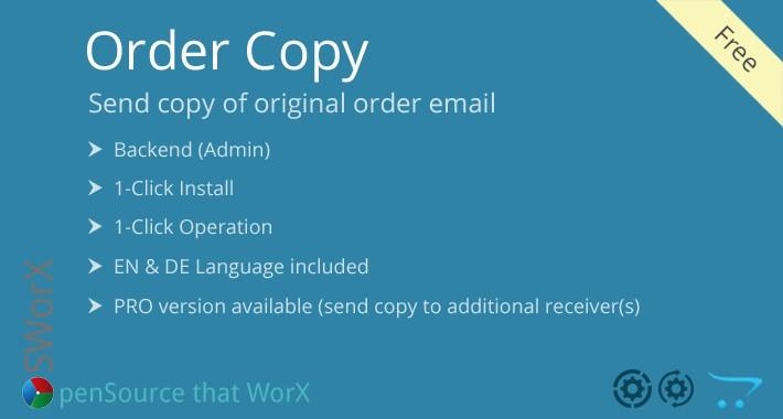 Order Copy Free