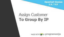 Assign Customer Group By IP / Dsiable Registrati..