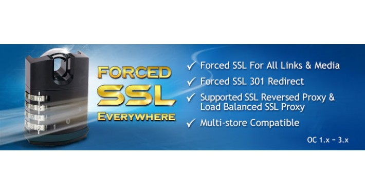 Forced SSL Everywhere OC 1.x - 3.x