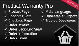 Product Warranty Pro