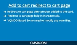 Add to cart redirect to cart page