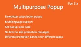 Multipurpose Popup