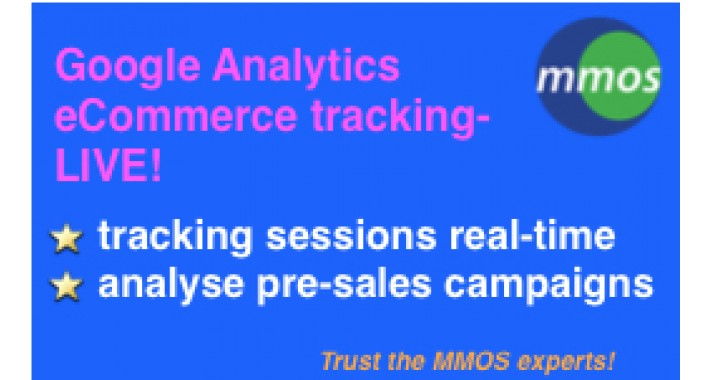 Google Analytics eCommerce Tracking -LIVE!