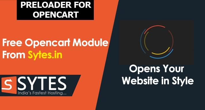 Preloader For Opencart