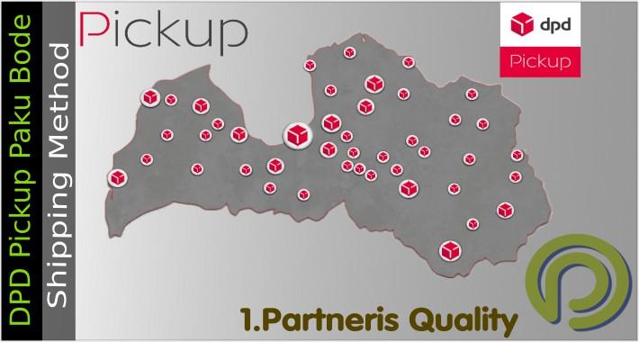 DPD Pickup Paku Bode Shipping Method for Opencart 3.x
