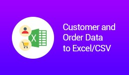 Customer and Order Data to Excel/CSV (OCMOD)
