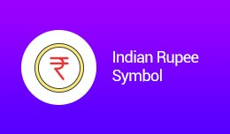 Indian Rupee Symbol (OCMOD)
