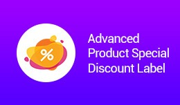 Advanced Product Special Discount Label(VQMOD)