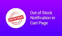 Out of Stock Notification in Cart Page VQMOD / O..