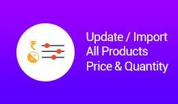 Update / Import All Products Price & Quantit..