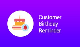 Customer BirthdayReminder (vqmod)