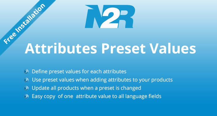 Predefined or Preset Attribute Values