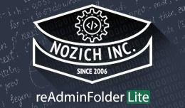 Nozich reAdminFolder Lite