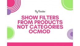 Show Filters From Products Not Categories - OCMO..