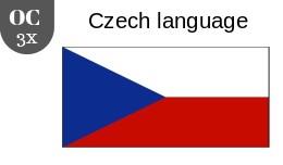 Czech language 3x