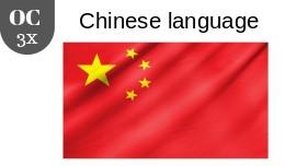 Chinese language 3x